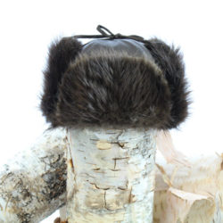 natural beaver hat trapper