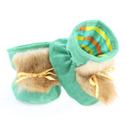 baby fur slippers