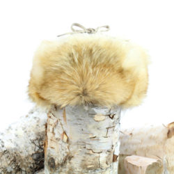 coyote fur trapper hat