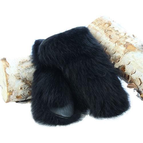 mitaine de chat sauvage teint noir