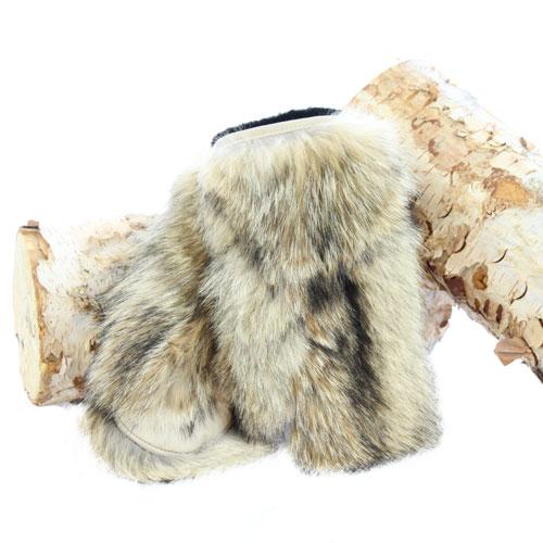 Deluxe coyote mitten