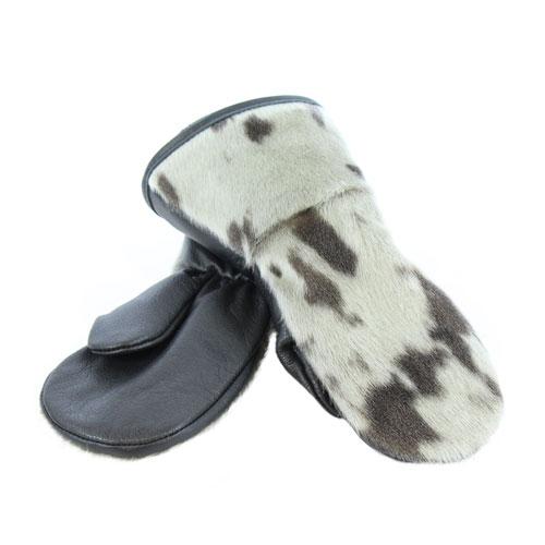 winter mittens Mitaines en loup marin naturel pour enfants