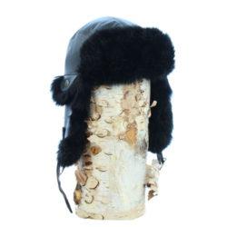 Baby Snow Boots in Black Sealskin b535fe5ff47f