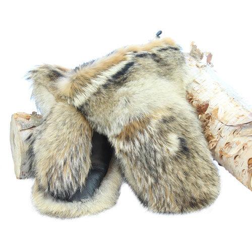 mitaine motoneige de luxe en coyote