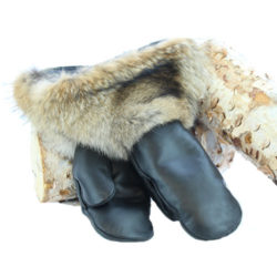 snowmobile gloves coyote leather hand