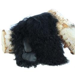 mitaines en mouton de mongolie
