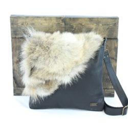 Handbag annie leather & Coyote