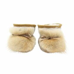 Bottines pour bébé doublées en mouton