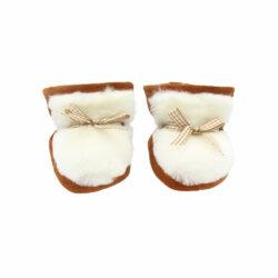 Premières chaussures bébé en mouton