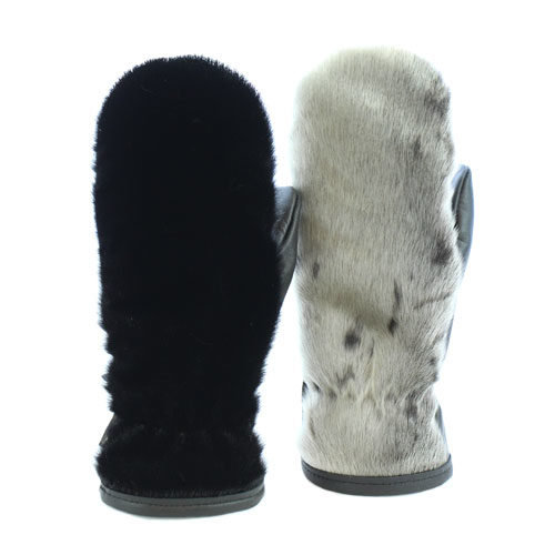 seal skin mittens city model