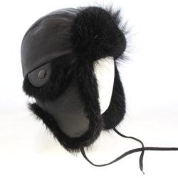 beaver hat chapeau enfant avi castor noir