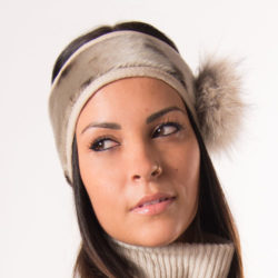sealskin headband