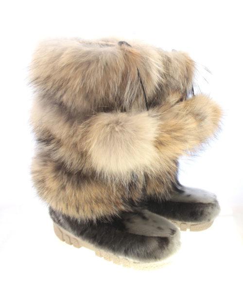 botte-fourrure-loup-marin-coyote