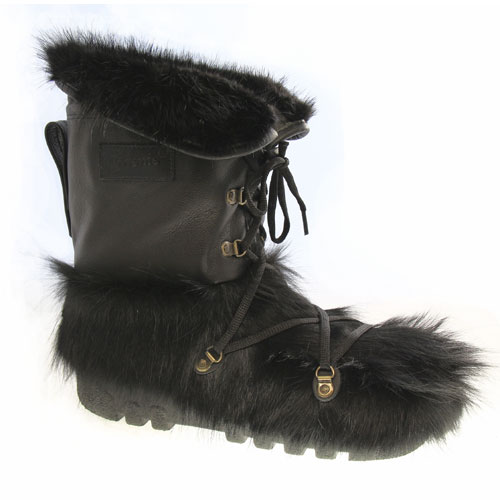 aeb5f6ca0ba Cow Skin and Black Beaver Franky Boots