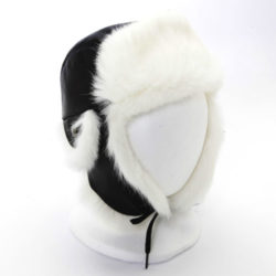 kids winter hats chapeau enfant avi lapin blanc