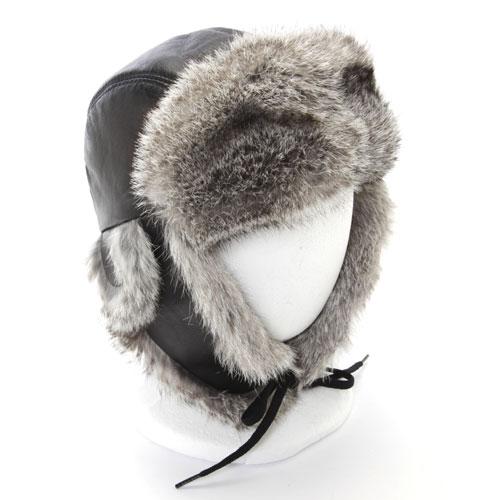 kids hats chapeau enfant avi lapin gris