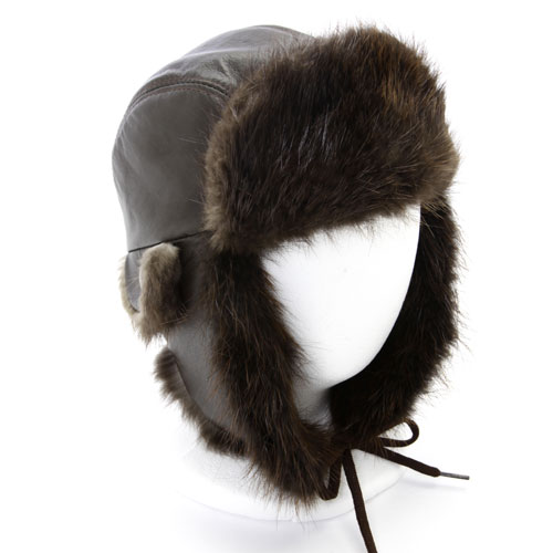 chapeau avi castor naturel