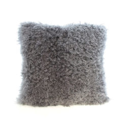 18 grey sheep cushion