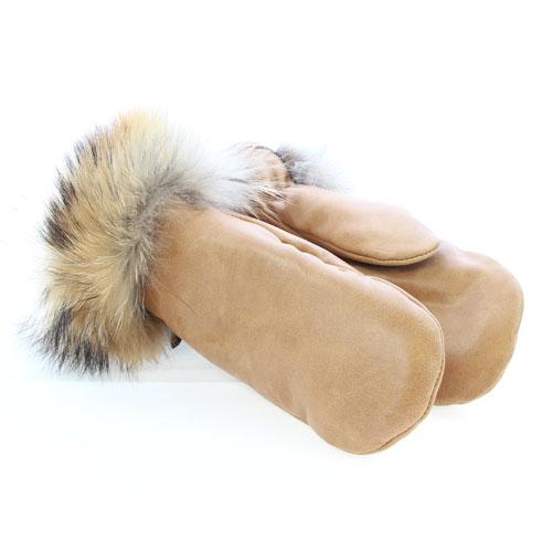 mitaines hiver urbaines en cuir et mouton paire