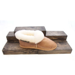 sheep wool slippers nude